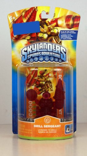 Skylanders Figure Exclusive Character Pack CLEAR RED Drill Sergeant Limited Edition! - 1