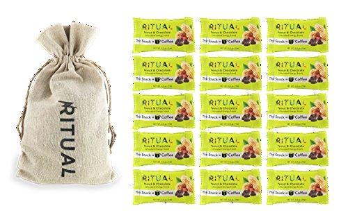 Ritual Energy Bite (Peanut Butter Chocolate, 15 Count) (Ritual Coffee compare prices)