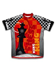 King Short Sleeve Cycling Jersey for Women