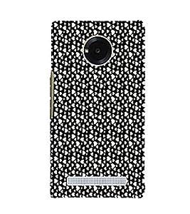 EPICCASE raining hearts Mobile Back Case Cover For YU Yuphoria (Designer Case)
