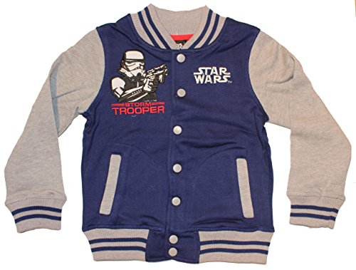 Disney Star Wars College giacca Blau 98 cm/104 cm