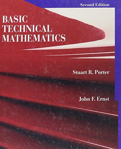 Basic Technical Mathematics (2nd Edition)