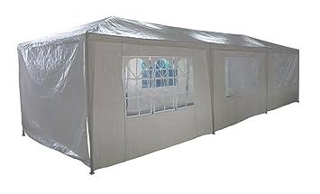 pavillon partyzelt pavillion zelt 3 x 9 meter dc729. Black Bedroom Furniture Sets. Home Design Ideas