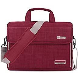BRINCH® New Style Oxford Fabric Unisex Universal Luxury Portable Laptop Sleeve Case Carrying Messenger Bag Shoulder Briefcase Handbag For 15 - 15.6 Inch Laptop / Notebook / MacBook / Ultrabook / Chromebook Computers (Apple / Acer / Asus / Dell / Fujitsu