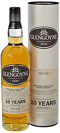 Glengoyne 10 Year Old Single Malt Whisky 70 cl