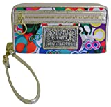 NEW COACH POPPY MULTI-COLOR POP C ZIP ACCORDIAN WALLET 42896 Reviews