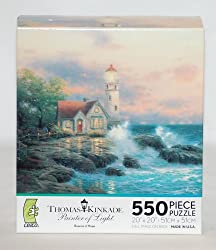"Ceaco Thomas Kinkade Painter of Light ""Beacon of Hope"" Jigsaw Puzzle"