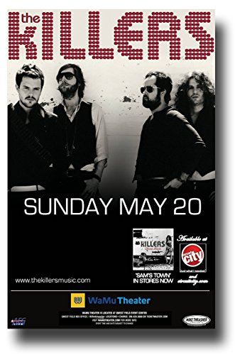 the-killers-poster-11-x-17-concert-promo-for-the-sams-town-album-sea-wamu