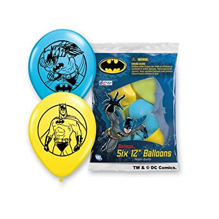These balloons are great for both children and adults. Add something special to a balloon bouquet or party. The package has 6 balloons. The colors vary from package to package. Each balloon has two graphic (one on each side). All the balloons feature...