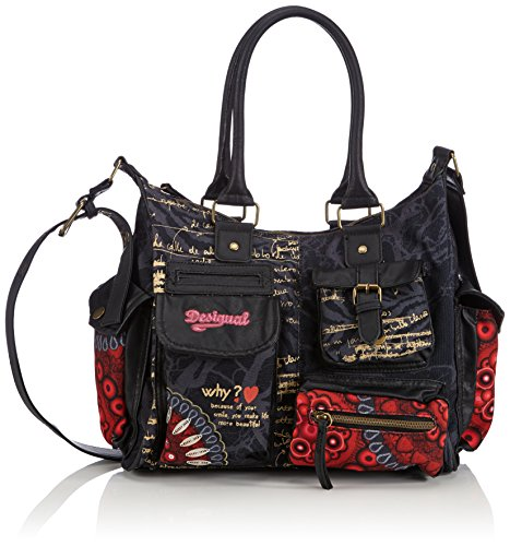 Desigual London Medium Bolas Rojas Cross Body Bag, Strawberry, One Size