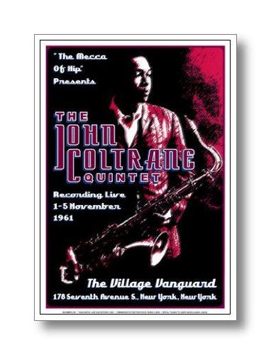 ジャズポスター ジョン・コルトレーン John Coltrane Quintet: Village Vanguard, 1961