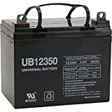 UPG Sealed Lead-Acid Battery - AGM-type, 12V, 35 Amps, Model# 46042