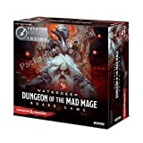 WizKids 73591 Dungeons and Dragons Waterdeep: Dungeon of The Mad Mage Adventure System Board Toy (Premium Edition) (Color: Multi-colored)