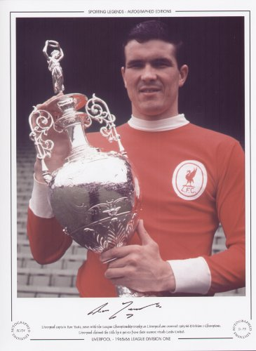 Ron Yeats Liverpool League Champions 1966 – Signed Limited Edition