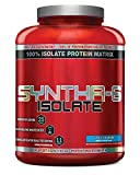 BSN SYNTHA-6 ISOLATE Protein Powder Drink, Vanilla Ice Cream, 4.0 lb (48 servings)