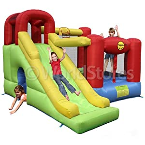 6 in 1 Play Centre Inflatable Kids Bouncy Castle 9060 MODEL