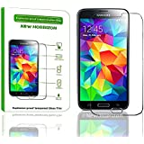 New Horrizon - Tempered-Glass Explosion - Proof Screen Protector for Samsung Galaxy S3 Premium Crystal Clear - High Quality 9H Hardness