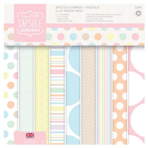 papermania-juegos-de-tiras-de-papel-para-manualidades-1524-x-1524-cm-32-unidades-diseno-de-lunares-y