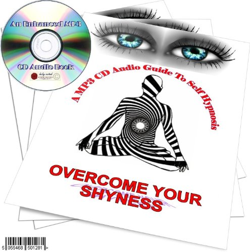 A MP3 CD AUDIO GUIDE TO SUBLIMINAL SLEEP HYPNOSIS - OVERCOME SHYNESS