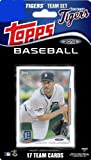 2014 Topps Detroit Tigers Factory Sealed Special Edition 17 Card Team Set with Justin Verlander, Miguel Cabrera Plus