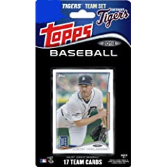 2014 Topps Detroit Tigers Factory Sealed Special Edition 17 Card Team Set with Justin...