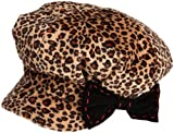 San Diego Hat Girls 2-6x Leopard Cap With Side Bow