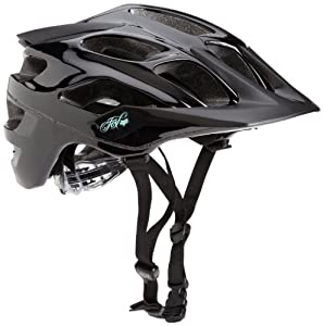 Fox 2013 Youth V1 Rockstar Bike Helmet - 01201 (Black - Large)