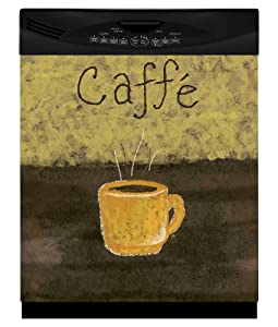 Appliance Art Caffe Coffee Magnet (Large) Dishwasher Cover