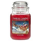 Yankee Candle Large Jar Candle, Christmas Eve