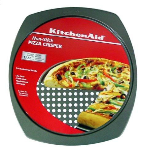 KitchenAid II Nonstick Pizza Crisper - Buy KitchenAid II Nonstick Pizza Crisper - Purchase KitchenAid II Nonstick Pizza Crisper (Lifetime Brands, Home & Garden, Categories, Kitchen & Dining, Cookware & Baking, Baking, Specialty Bakeware)