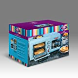 Nostalgia Electrics BSET-100BLUE Retro Series 3-in-1 Breakfast Station