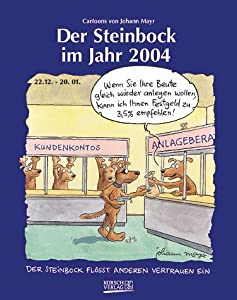 der steinbock im jahr 2004 sternzeichen cartoonkalender b cher. Black Bedroom Furniture Sets. Home Design Ideas