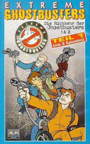 Extreme Ghostbusters - Die Rückkehr der Ghostbusters (Teil 1+2) [VHS]