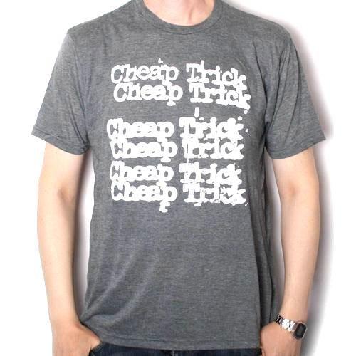 チープトリック / CHEAP TRICK STACKED LOGO 【公式商品 / オフィシャル】