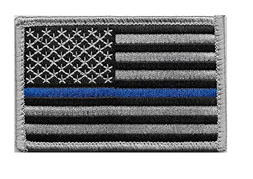 Great Features Of US Flag Thin Blue Line Velcro Patch for Police and Law Enforcement