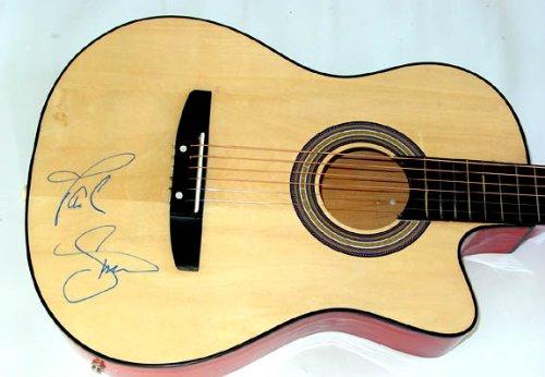 Paul Simon Autographed Signed Acoustic Guitar &Video Proof Psa