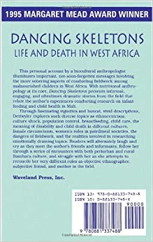 dancing skeletons by katherine dettwyler Dancing skeletons: life and death in west africa by katherine dettwyler is an ethnography that mainly focuses on how infant feeding and weaning practices.