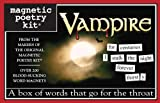Vampire: Magnetic Poetry Kit