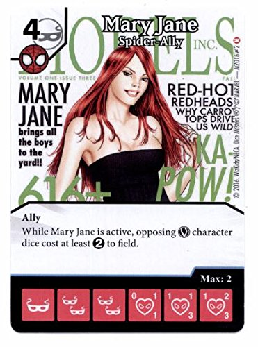 Marvel Dice Masters: Spider-Allies Promo Card: Mary Jane - Spider-Ally (Mary Masters compare prices)