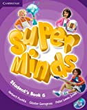 Super Minds Level 6 Students Book with DVD-ROM