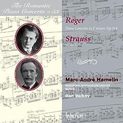 Romantic Piano Concerto Vol. 53-Reger & Strauss