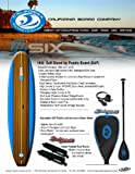 Keeper Sports Stand Up Paddle Board Set (10-Feet 6 x 31 x 5.5-Inch)