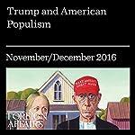 Trump and American Populism | Michael Kazin