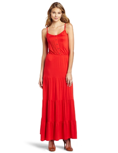 Ella Moss Women's Pintuck Maxi Dress