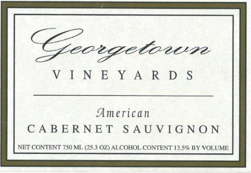 NV Georgetown Vineyards Cabernet Sauvignon Wine 750 mL Red Wine