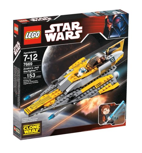 Lego Star Wars Anakin'S Jedi Starfighter back-901197