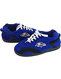 Unisex-Adult Nfl Team Football Slippers - Baltimore Ravens