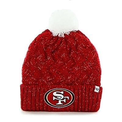 Women's Knit San Francisco 49ers Beanie Crochet Hat