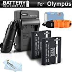 2 Pack Battery And Charger Kit Bundle...