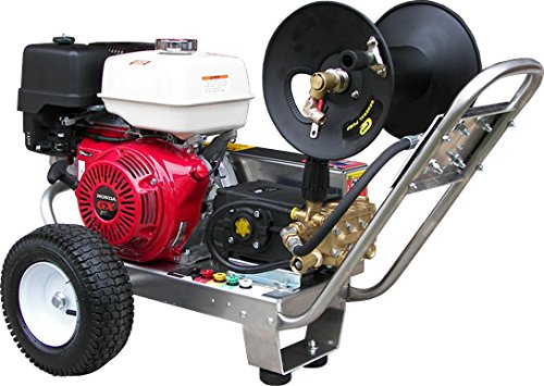 Belt-Drive Pressure Washer with Honda GX390 4,000 PSI 4.0 GPM (Honda Commercial Pressure Washer compare prices)